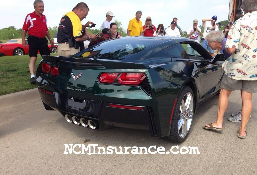 Video: 2014 Chevrolet Corvette Stingray in Lime Rock Green Debuts
