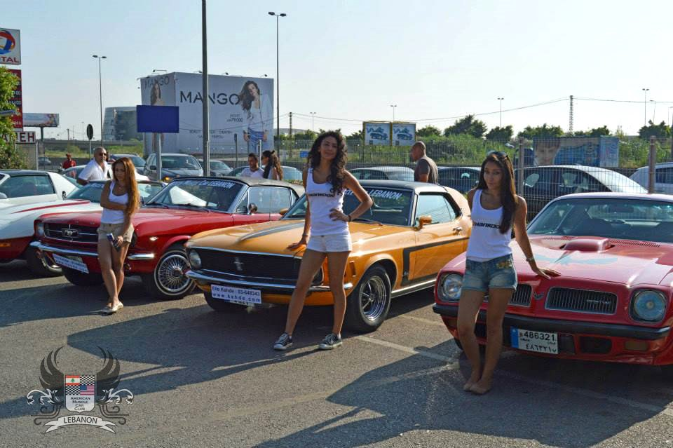 Gallery American Muscle Cars In Lebanon Middle East Gtspirit