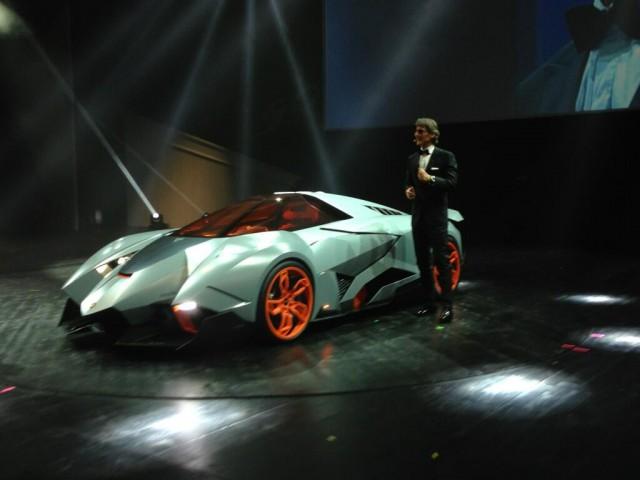 Lamborghini Ecosta Concept
