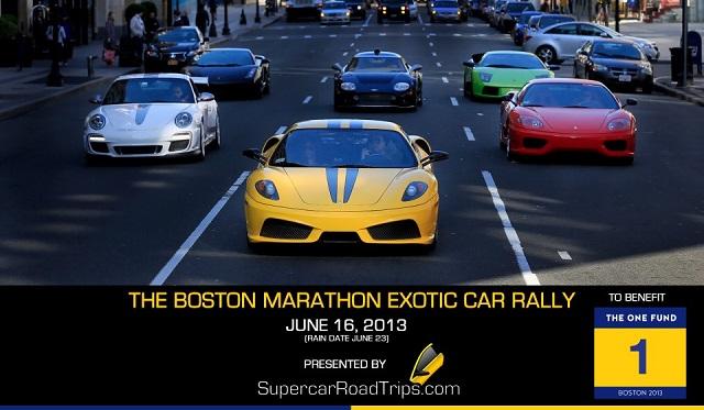 Boston Marathon Exotic Car Rally