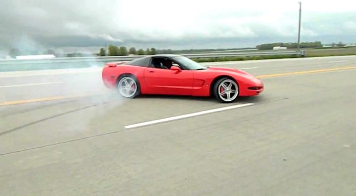 Corvette Drifting Fail