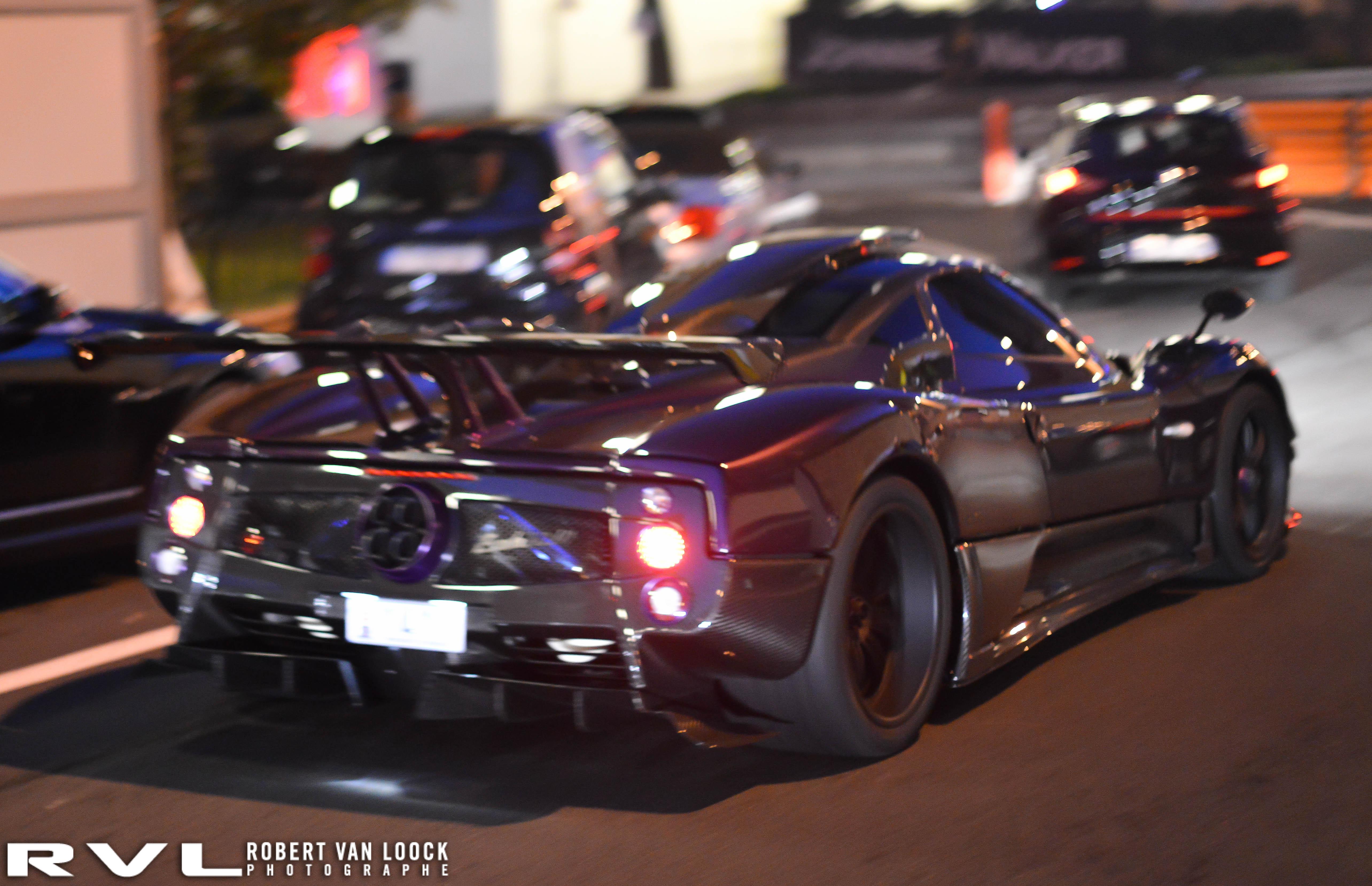 Video Lewis Hamilton Drives One Off Pagani Zonda 760 Lh