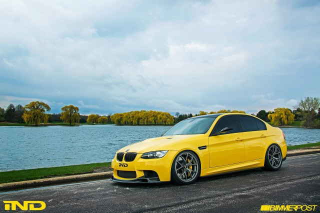 BMW Dakar Yellow M3