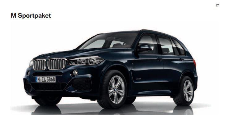 BMW X5 2014 Model