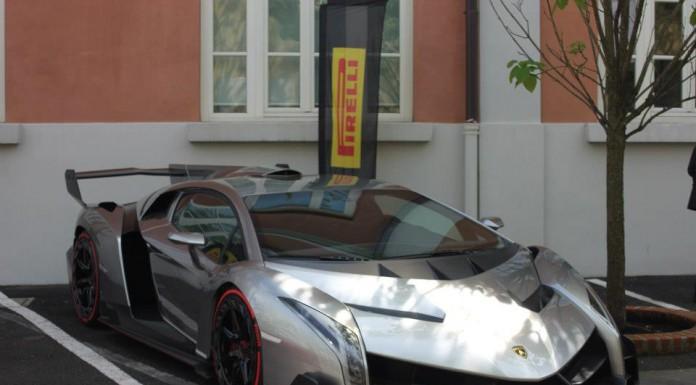 Lamborghini Veneno at the Grand Giro