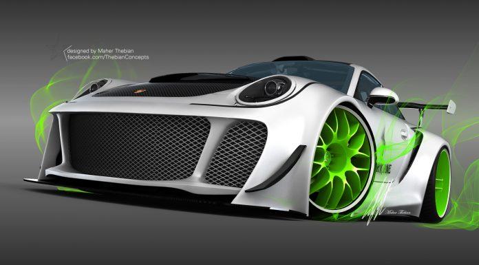 Render: 2014 Porsche Carrera 'Hurricane' by Maher Thebian