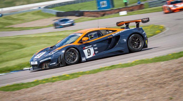 McLaren MP4-12C GT3 British GT