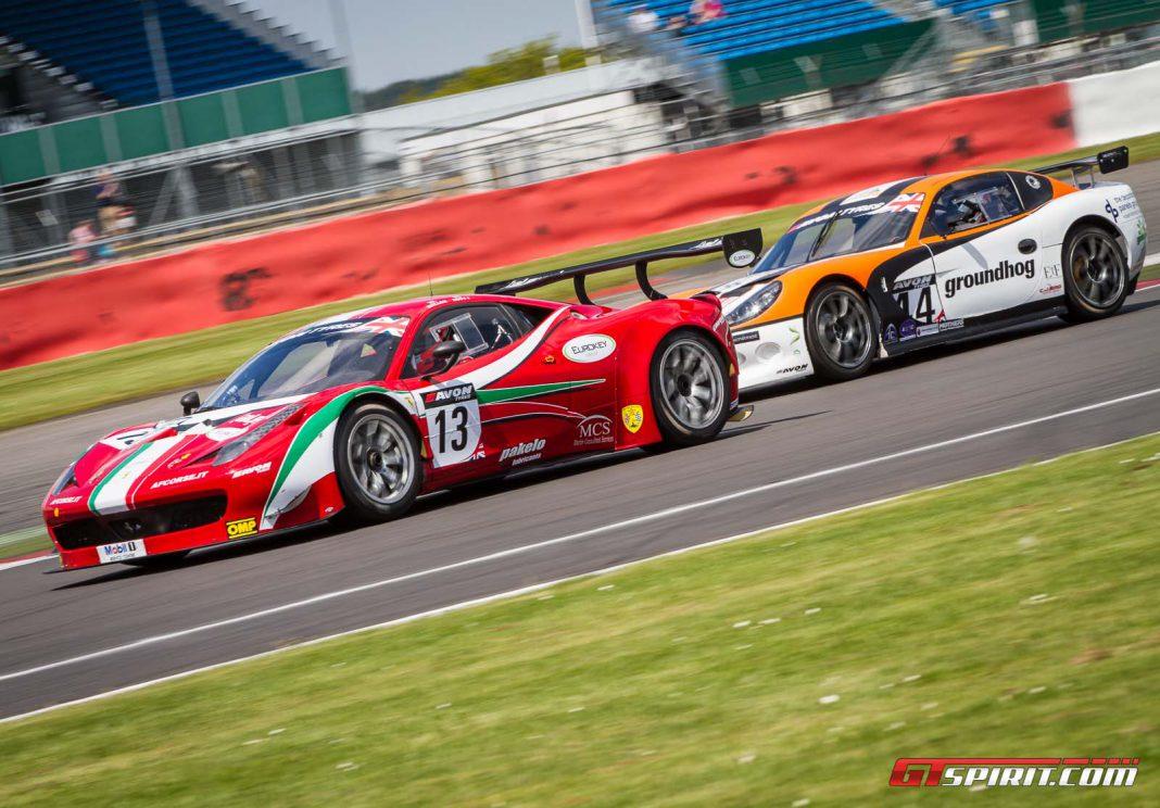 British GT Silverstone 500 2013