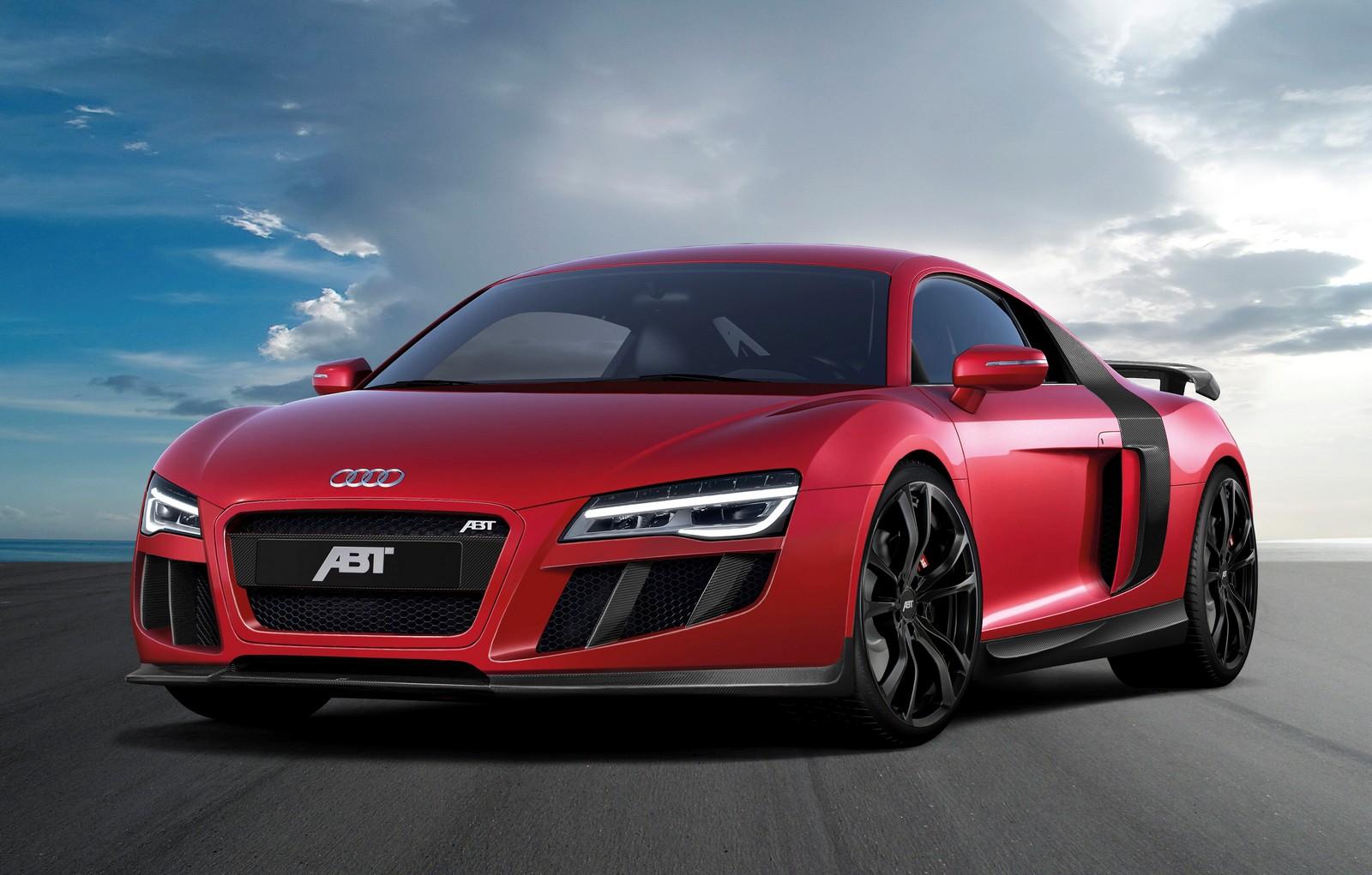 Official Abt Audi R8 V10 Gtspirit