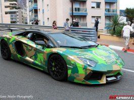 Oakley Design Lamborghini Aventador Nasser Edition