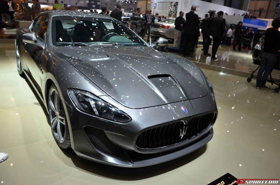 Maserati GranTurismo MC Stradale four-seater