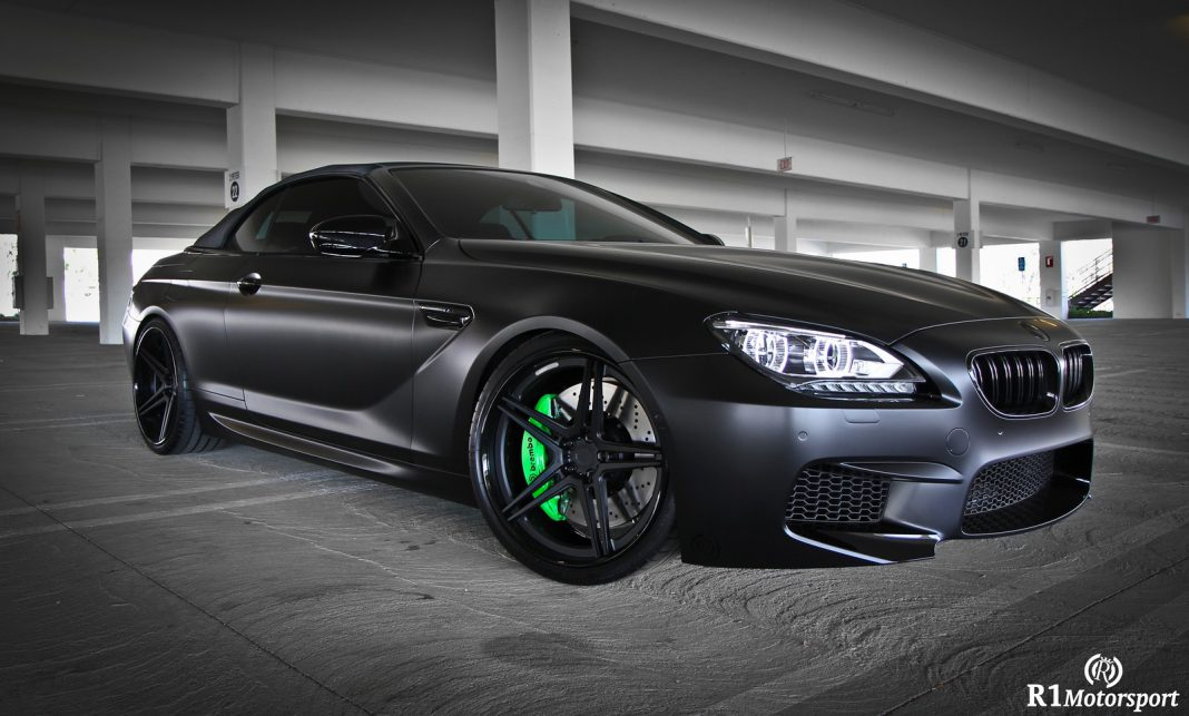 Satin Black BMW M6