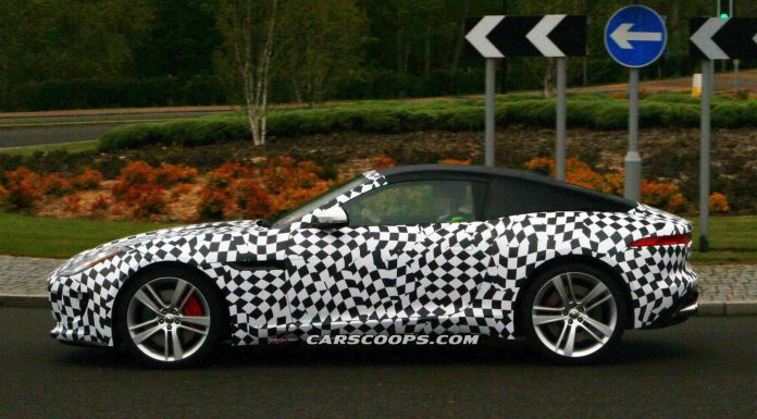 Spyshots: Jaguar F-Type Coupe Spied for the First Time