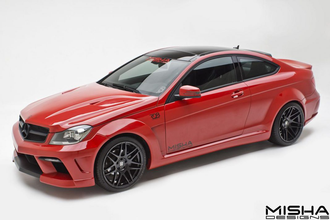Mercedes-Benz C-Class Coupe by Misha Designs