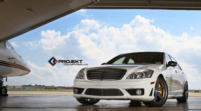 White 2012 Mercedes-Benz S63 AMG by K3 Projekt
