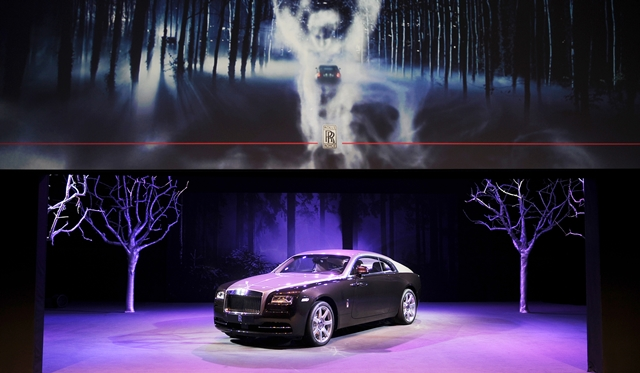 Rolls-Royce unveils Wraith to Northern and Central China Customers in Beijing