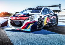 Peugeot 208 T16 Pikes Peak Revealed With Red Bull Livery