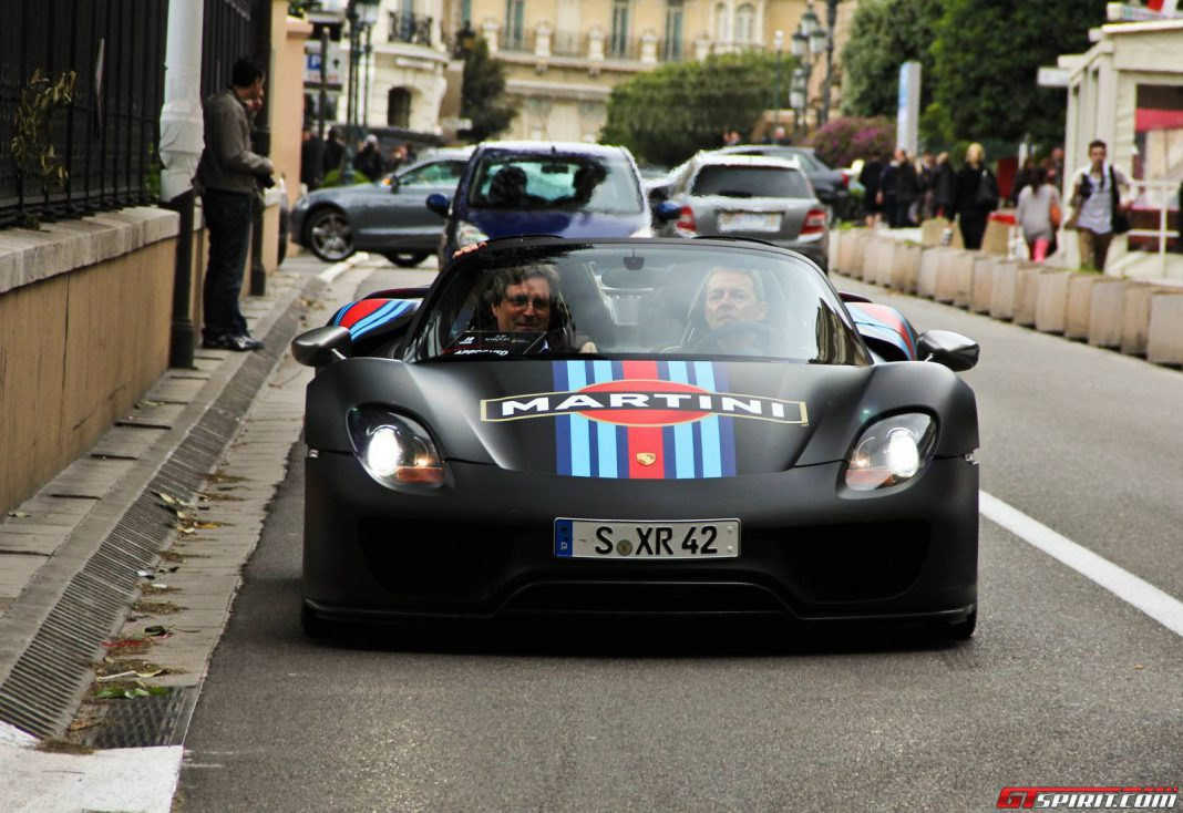 Production Porsche 918 Spyder to Sport 887hp and Over 920lb-ft