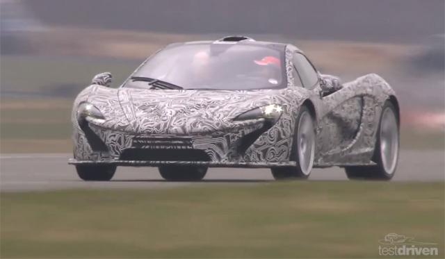 Video: McLaren P1 Testing at Dunsfold Aerodrome