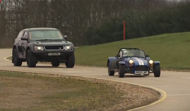 Video: Bowler EKR S vs Caterham Seven Supersport