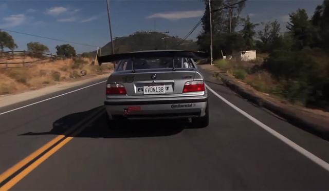 Video: Matt Farah Drives 850lb-ft EV BMW E36 M3