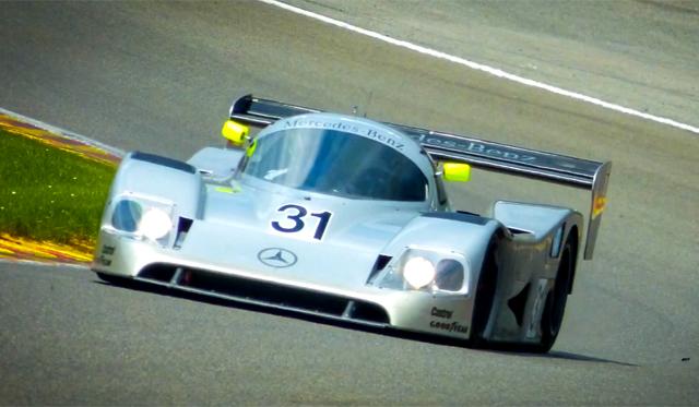 Video: Sauber Mercedes-Benz C11 Group C Racer Hits Spa