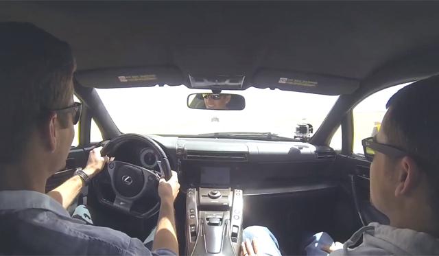 Video: Hollywood Star Paul Walker Drives Lexus LFA