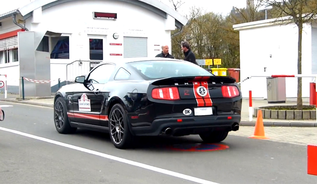 Video: 2013 Shelby Mustang GT500 on the 'Ring