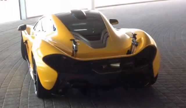 Video: Hear the McLaren P1 Revving at Company Headquaters
