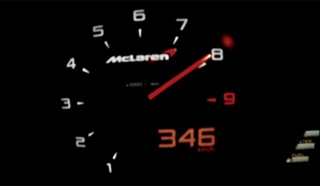 Video: McLaren 12C Spider Hits GPS-Verified 213mph