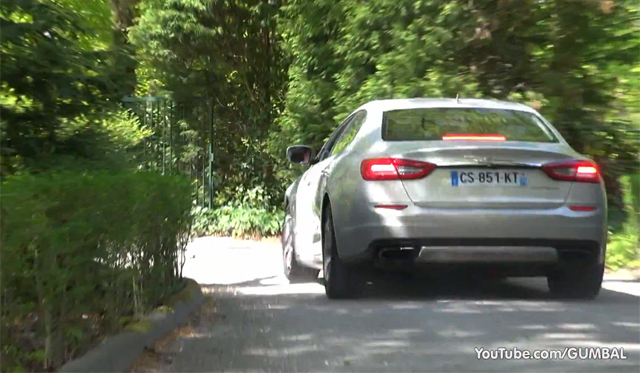 Video: 2014 Maserati Quattroporte V8 Revving