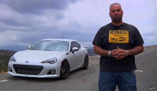 Video: Matt Farah Thrashes a 450hp Subaru BRZ by Crawford Performance