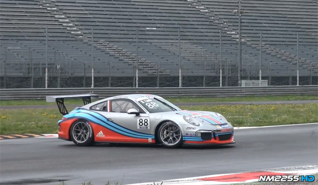 Video: 2014 Porsche 991 GT3 Cup Hits Monza With Sebastien Loeb
