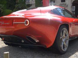Video: Touring Superleggera Disco Volante Revving at Villa d'Este 2013
