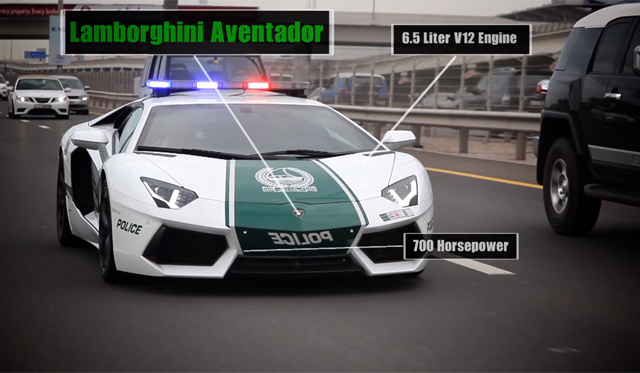video watch the dubai police forces fleet in action - Super Fast Cool Cars