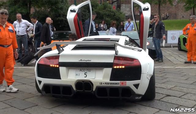 Video: Hear the Widebody Lamborghini Murcielago by LB Performance