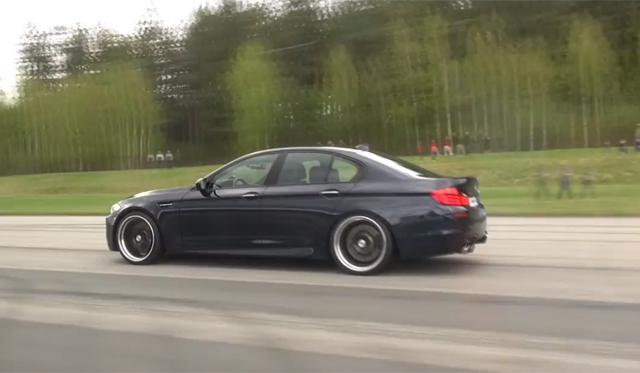 Video: Mercedes-Benz C63 AMG Black Series vs Manhart Racing BMW M5