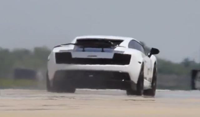 Video: Underground Racing 1500hp Lamborghini Gallardo Hits 217mph in 1/2 Mile