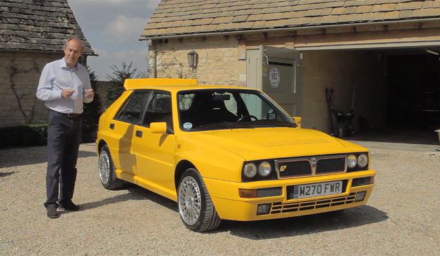 Video: Evo Drives Rare Lancia Delta Intergrale Evo II