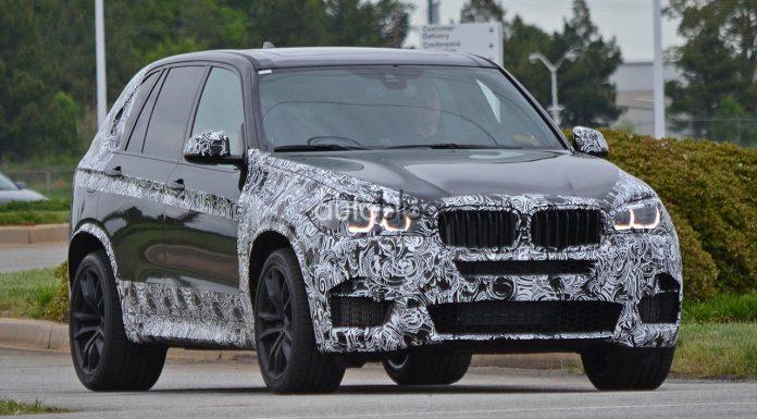 Spyshots: 2014 BMW F15 X5 M