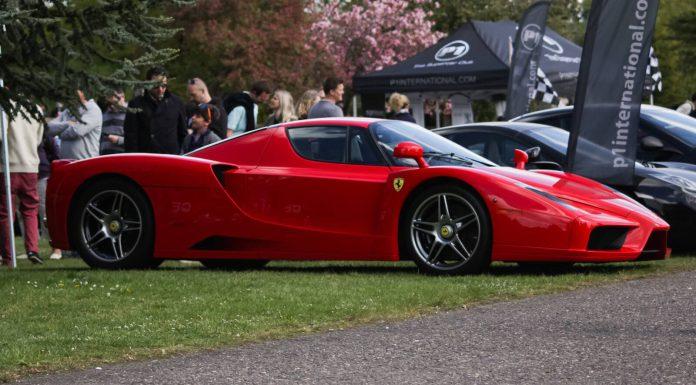 P1 Supercar Sunday Ferrari Enzo