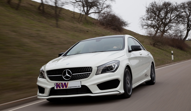 Official: KW coilovers for Mercedes-Benz CLA-class