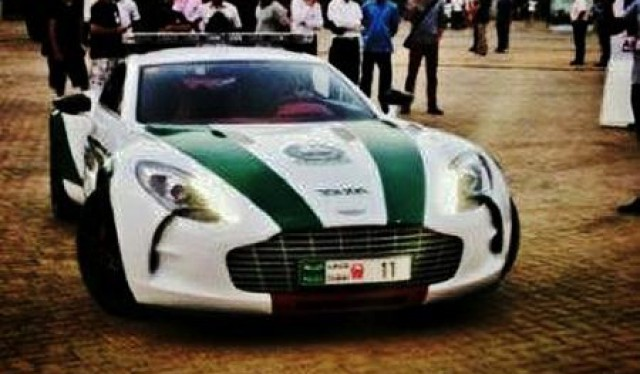 Dubai Police Aston Martin One-77 Q-Series
