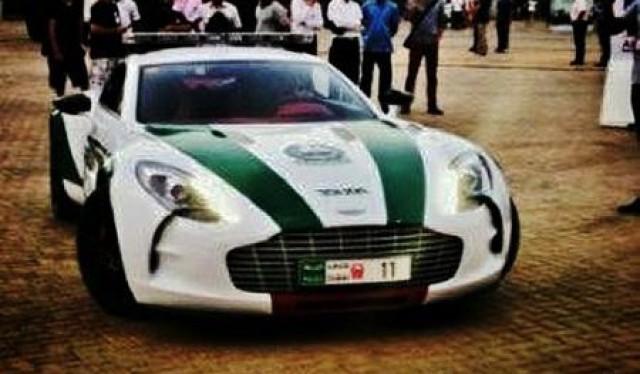 Dubai Police Aston Martin One-77 Q-Series