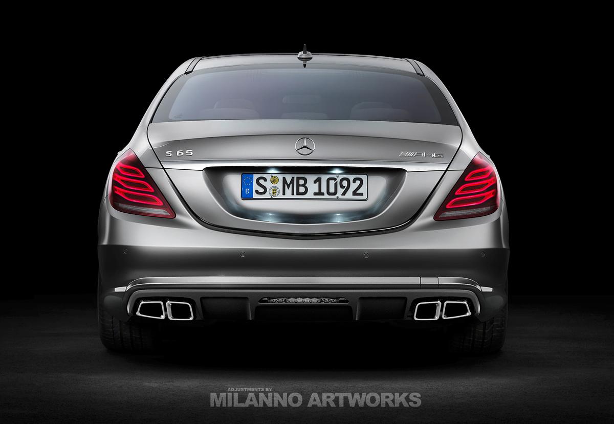 2014 Mercedes Benz S65 AMG
