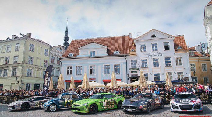 Gumball Cars in Tallinn Estonia