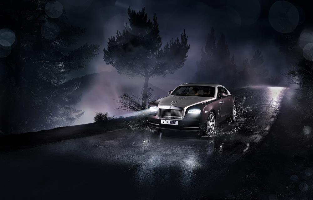 Behind the Wheel of the 2014 Rolls-Royce Wraith