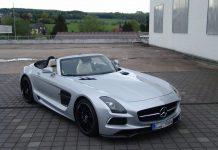 Mercedes-Benz SLS AMG Roadster by Inden Design
