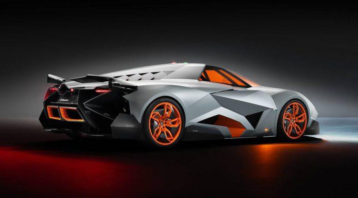 Lamborghini Egoista Rear