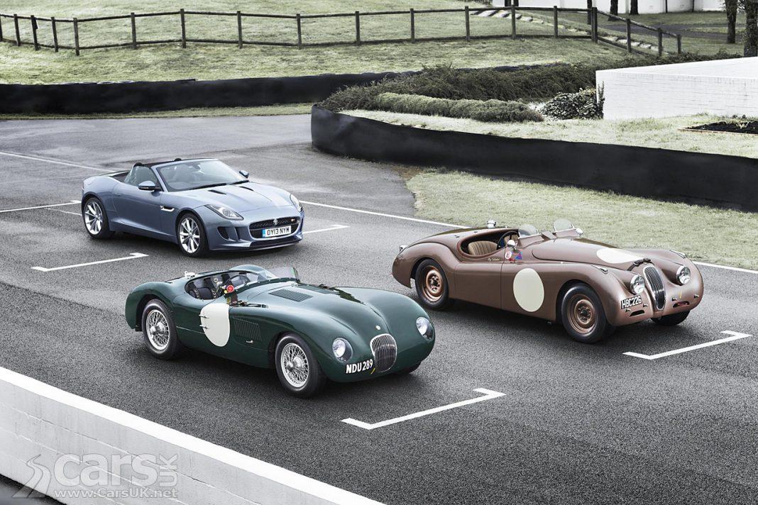 Jaguar Brining F-Type, XK120 and C-Type to Mille Miglia 2013